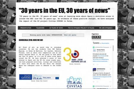 L'Institut Madina Mayurqa, a la llista de guanyadors de la XXII edició del Concurs Euroscola