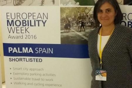 Reconeixement a la Setmana de la Mobilitat de Palma 2016