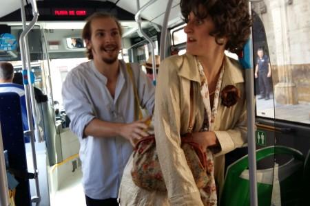 Microteatre per conscienciar sobre la importància del transport públic