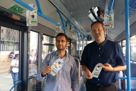 L'EMT llança la segona fase de la campanya informativa per promoure el bon ús del transport públic