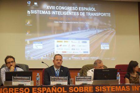 L'EMT participa al XVIII Congrés Espanyol de Sistemes Intel•ligents de Transports