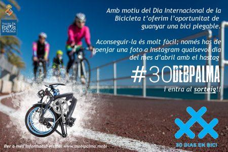 Concurso 30 días en Bici abril 2.018