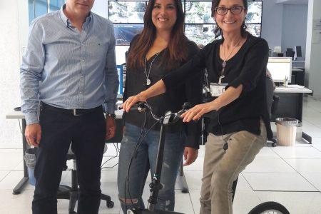 Maria Assumpció Massanet recull el seu premi com a guanyadora del repte #30DEBPALMA