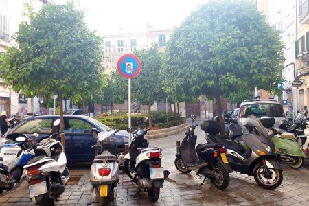 La plaça del Banc de s'Oli es transforma en un espai per als vianants