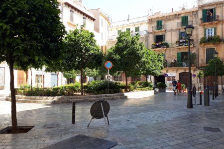La plaça del Banc de s'Oli ja és per als vianants