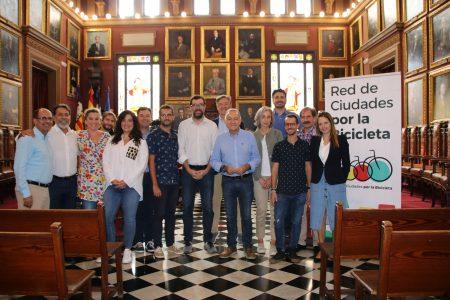 Palma acull la reunió de la Junta Directiva de la Red de Ciudades por la Bicicleta