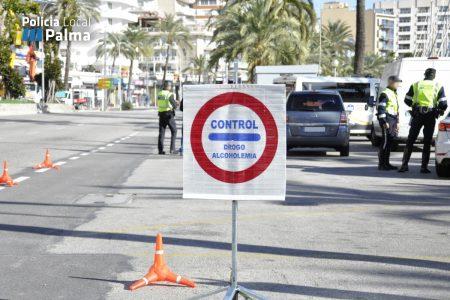 La Policía Local de Palma aumenta los controles de etilometría y velocidad para estas fiestas
