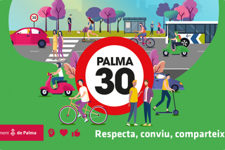 La revisión de la red viaria reducirá también la velocidad máxima permitida en las calles no afectadas por la medida Palma, Ciutat 30