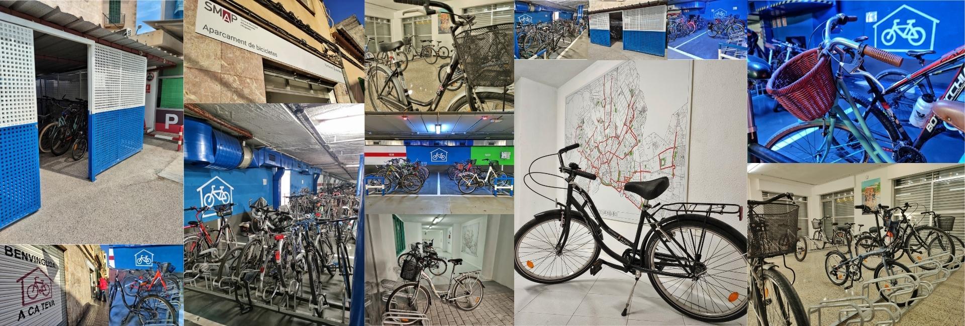 Collage Pere Garau - WEB Aparcament de bicis