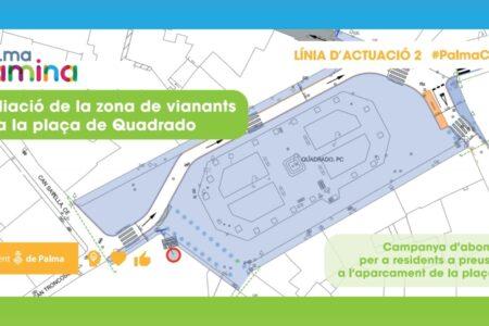 Mañana se abre el plazo para que los vecinos de la plaza Quadrado soliciten los abonos bonificados en el aparcamiento de la Plaça Major