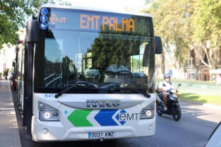 El servei de l'EMT Palma incrementa la seva oferta de transport públic al llarg d'aquesta setmana més d'un 10% amb motiu de la tornada a l'escola