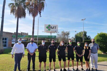 Ja s'han incorporat a l'EMT Palma set nous conductors i conductores del borsí de persones xofers